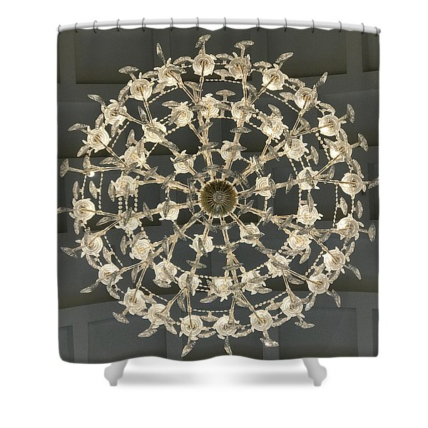Castle Front Hall 02 Shower Curtain