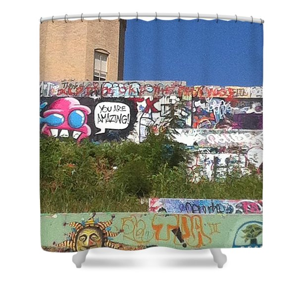 Castle Hill Shower Curtain