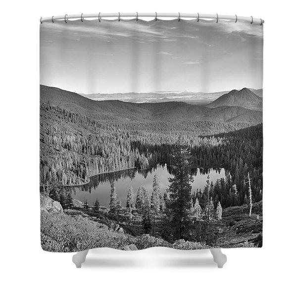 Castle Lake Shower Curtain