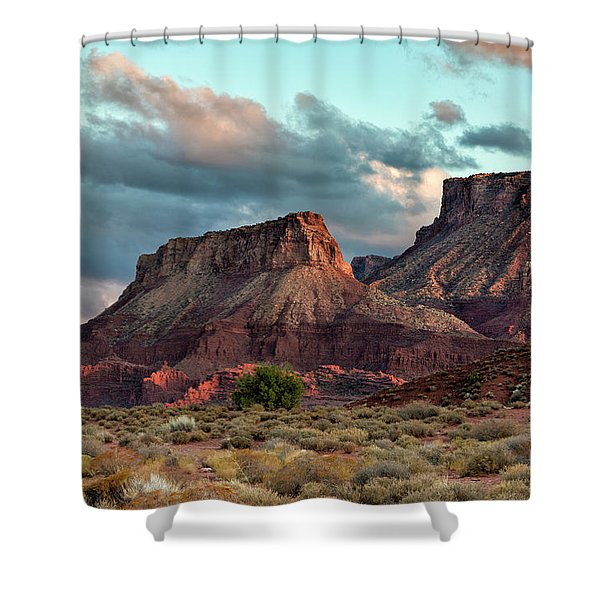 Castle Valley Finale Shower Curtain