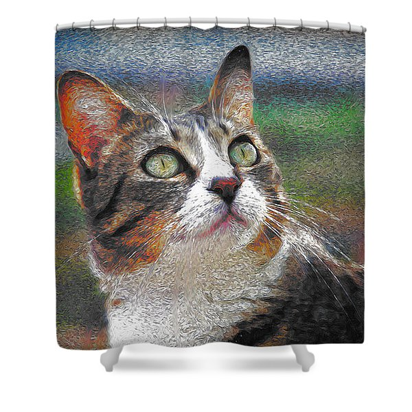 Cat Xxxx Shower Curtain