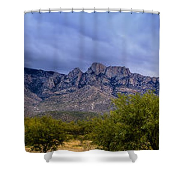 Catalina Mountains P1 Shower Curtain