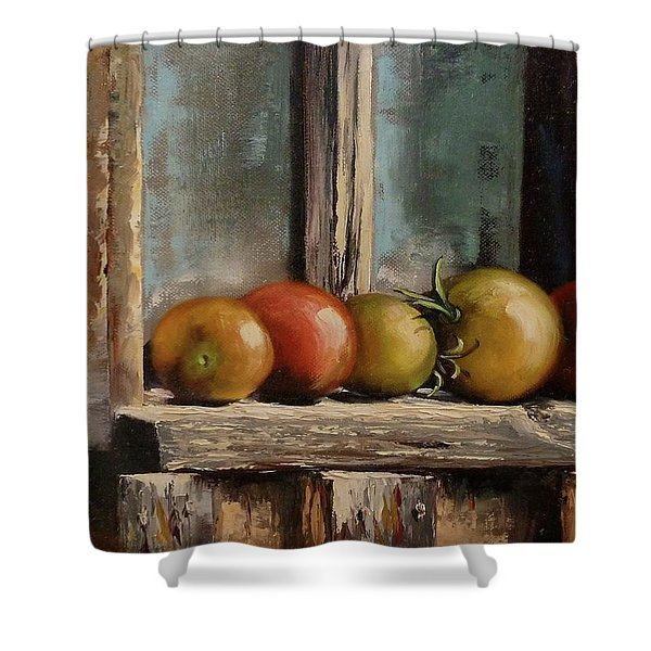 Catching Summer Rays Shower Curtain