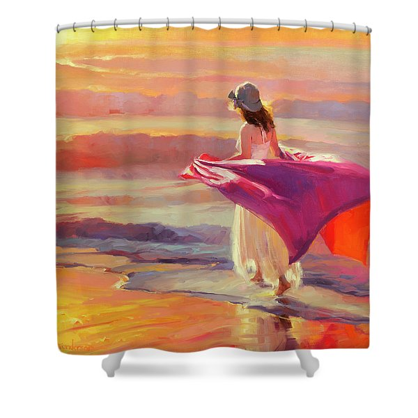 Catching The Breeze Shower Curtain