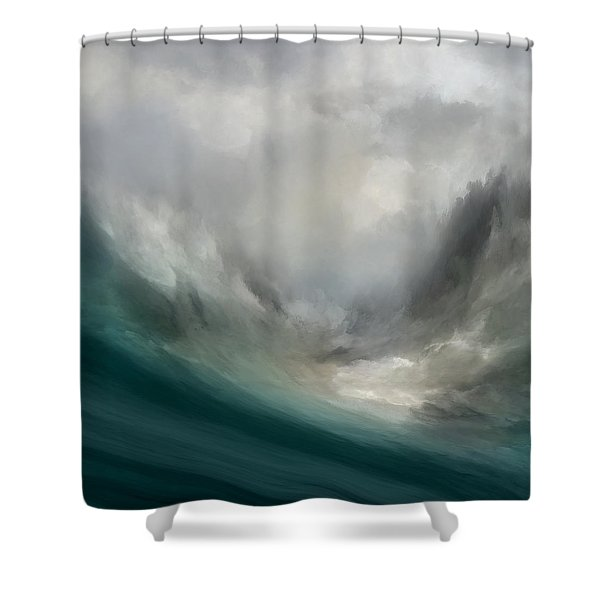 Catching Waves Shower Curtain