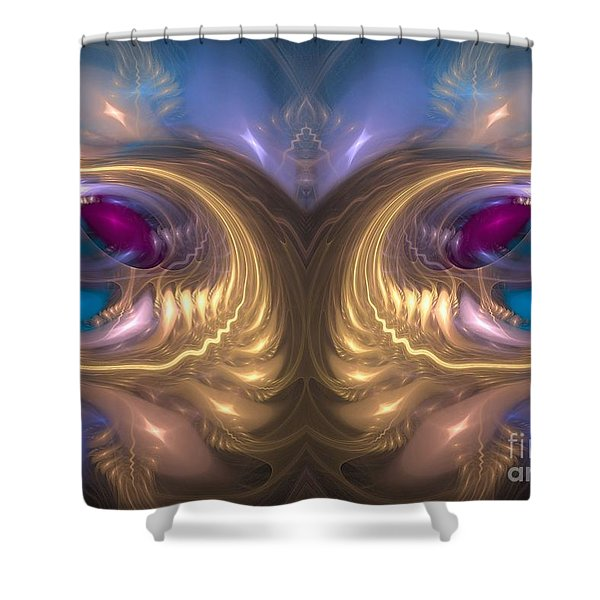Catharsis - Abstract Art Shower Curtain