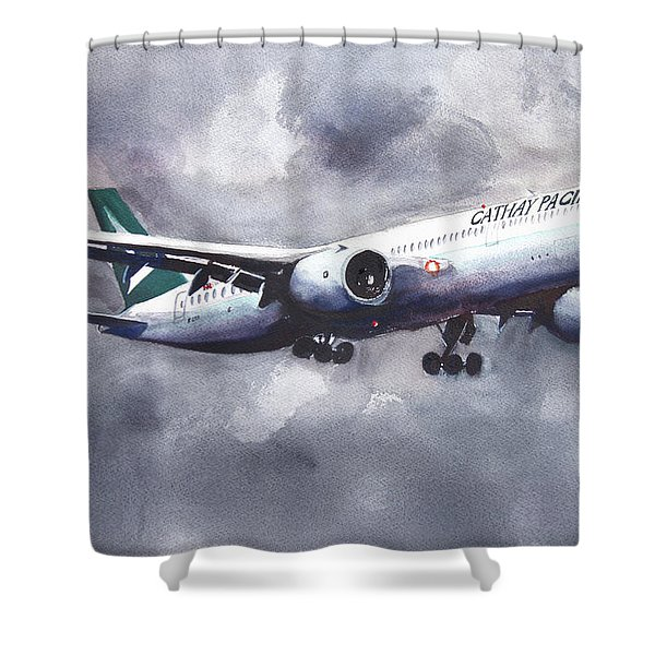 Cathay On The Ils Shower Curtain