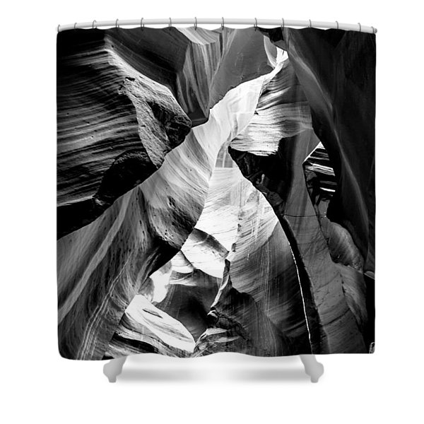 Cathedral Cave Shower Curtain