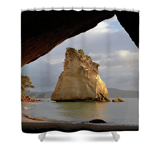 Cathedral Cove Shower Curtain