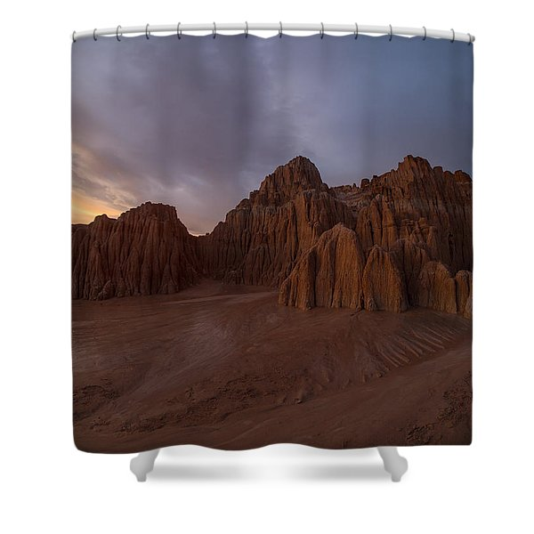 Cathedral Gorge Shower Curtain