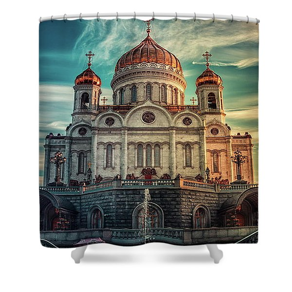 Cathedral Of Christ The Saviour Shower Curtain