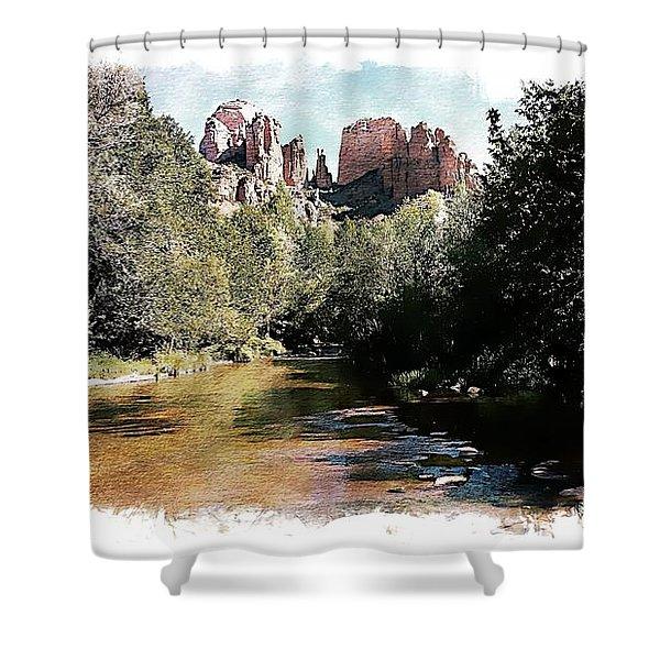 Cathedral Rock - Sedona, Arizona Shower Curtain