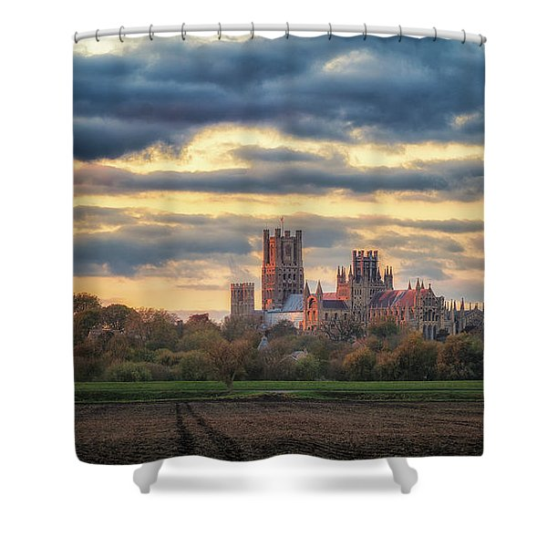 Cathedral Sunset Shower Curtain