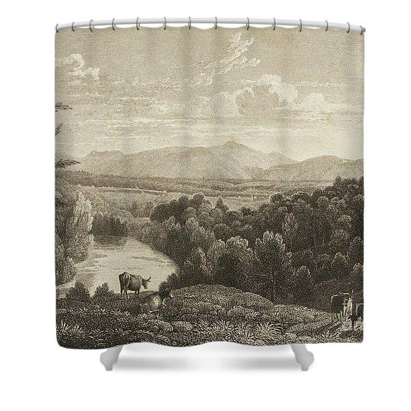 Catskill Mountains Shower Curtain