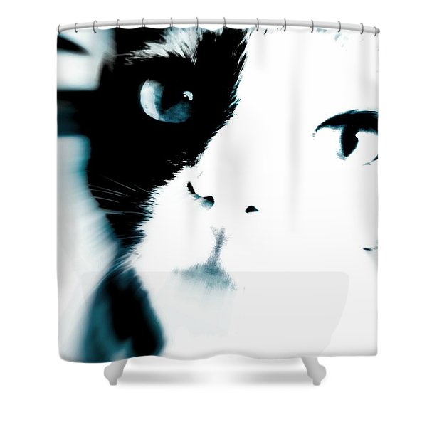 Cattitude Shower Curtain
