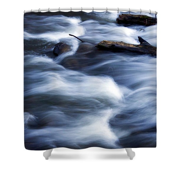 Cedar Creek Rapids Shower Curtain