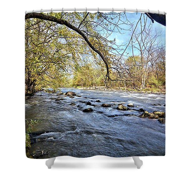 Cedar River 2 Shower Curtain