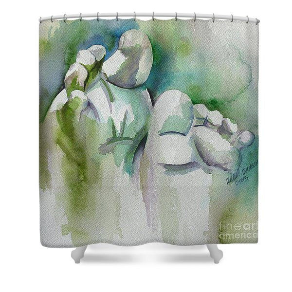 Celebrate The Gift Shower Curtain