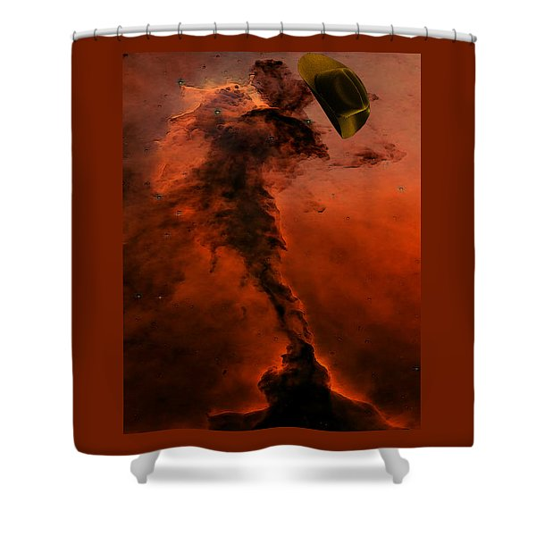 Shower Curtain featuring the digital art Celebration by Tristan Armstrong