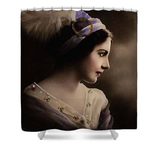 Celeste Aida Shower Curtain