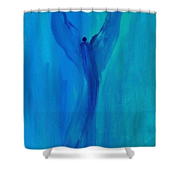 Celestial Angel Shower Curtain