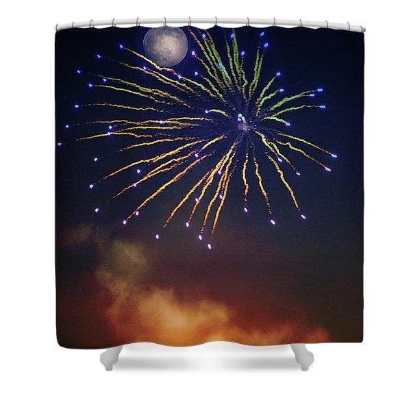 Celestial Celebration  Shower Curtain