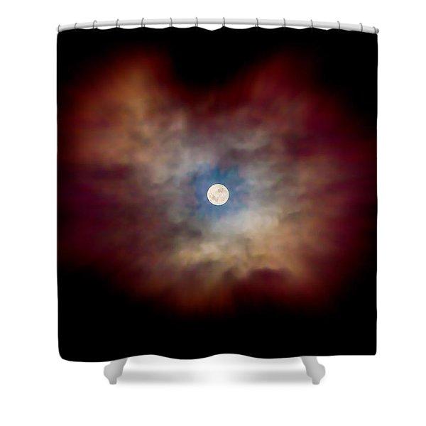 Celestial Moon Shower Curtain