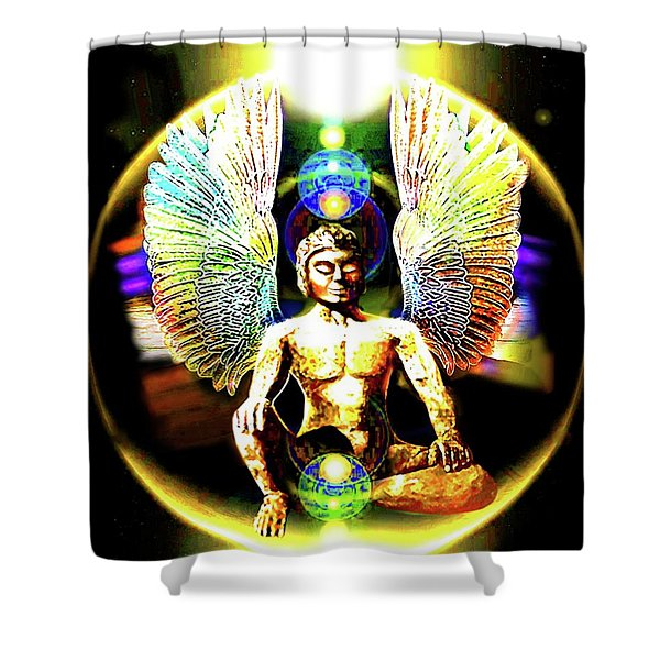 Celestial  Realms . . .  Shower Curtain