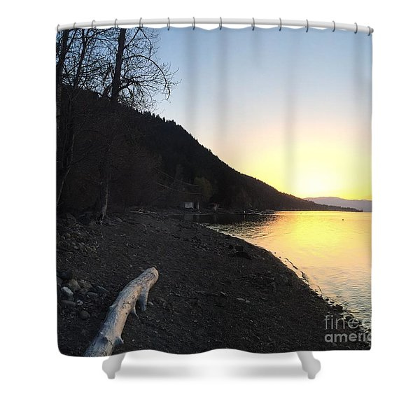 Celista Sunrise 1 Shower Curtain