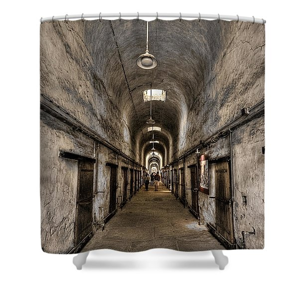 Cell Block  Shower Curtain