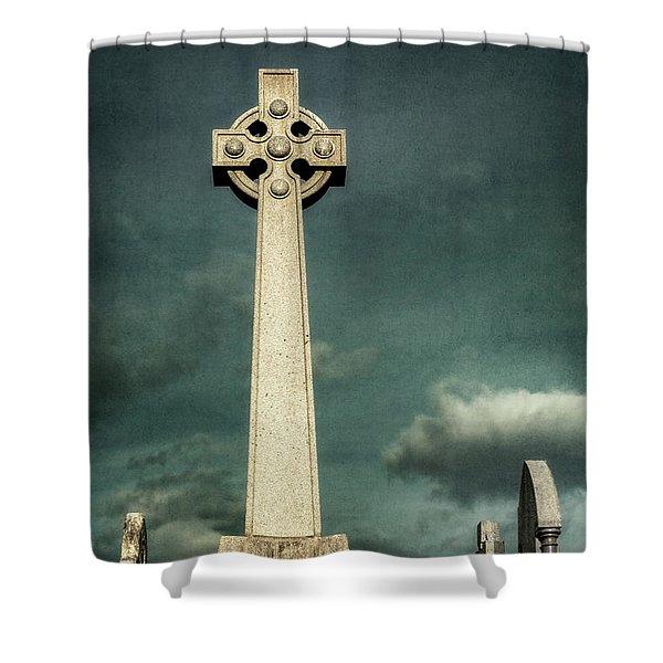 Celtic Sanctuary Shower Curtain