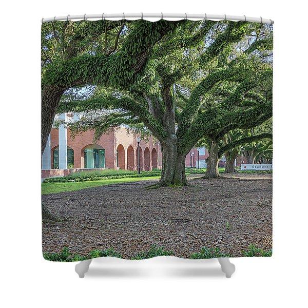 Centennial Oaks Shower Curtain