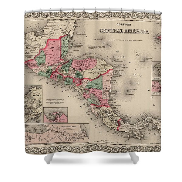 Central America Shower Curtain