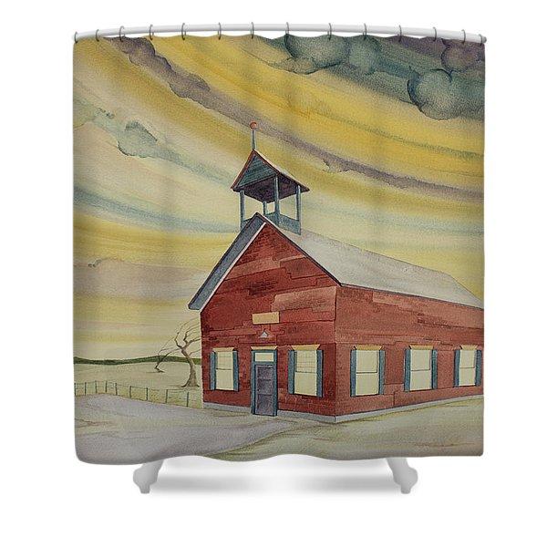 Central Ohio Schoolhouse Shower Curtain