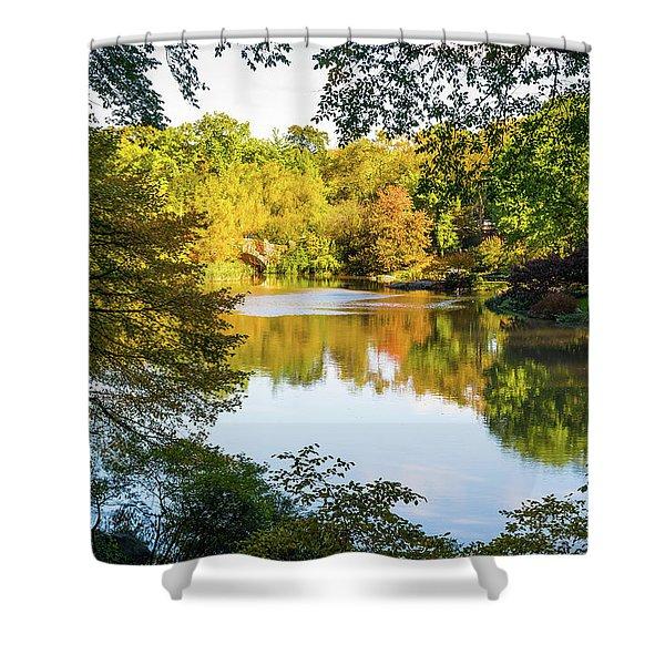 Central Park - City Nature Park Shower Curtain