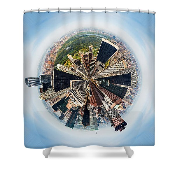 Eye Of New York Shower Curtain
