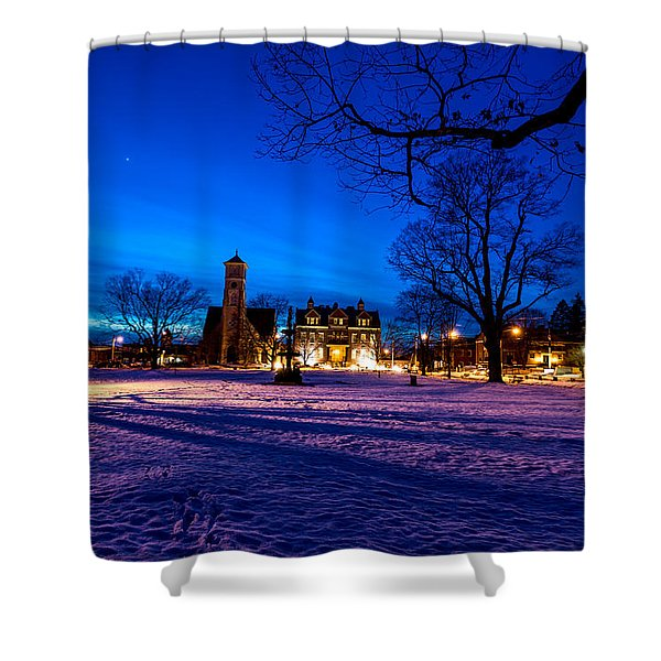 Central Parl Shower Curtain