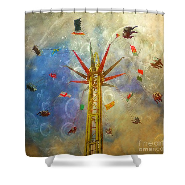 Centre Of The Universe Shower Curtain