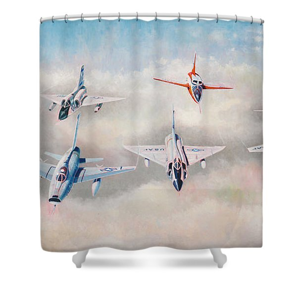 Century Series Fantasy Formation II Shower Curtain