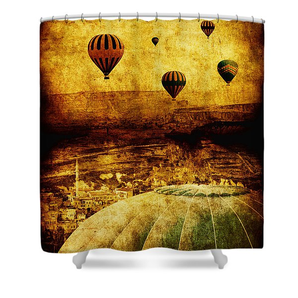 Cerebral Hemisphere Shower Curtain