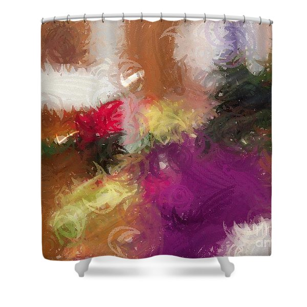 Ceremonial Colors Shower Curtain