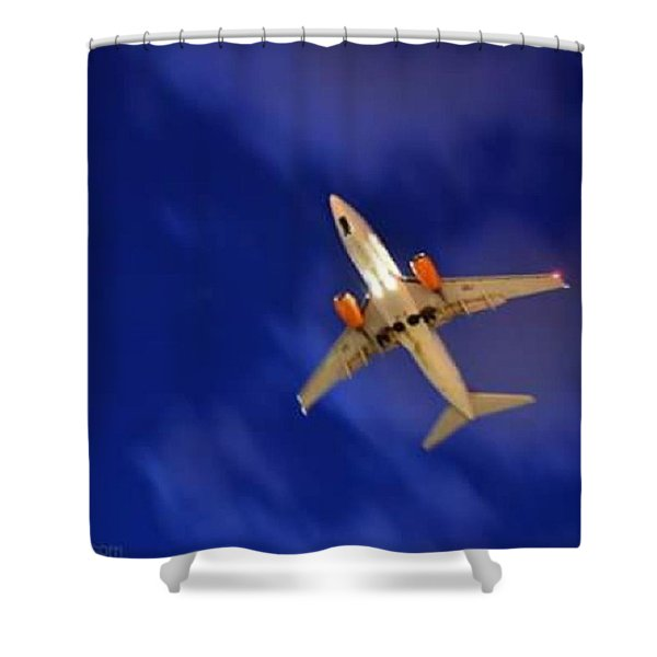 Cgh: Landing Authorized Shower Curtain