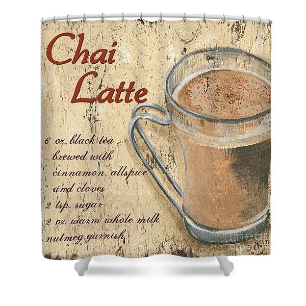 Chai Latte Shower Curtain