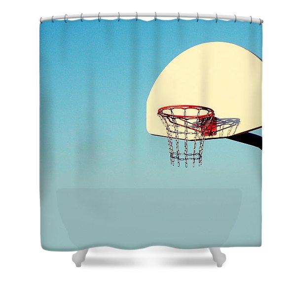 Chain Net Shower Curtain