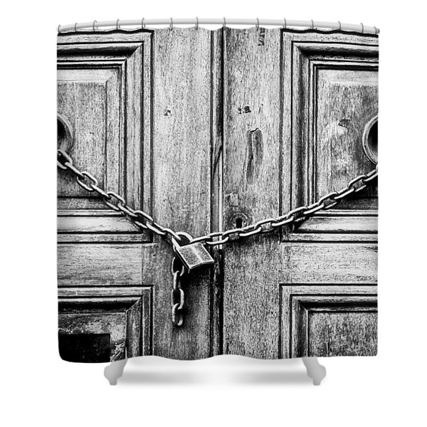 Chained Door Shower Curtain