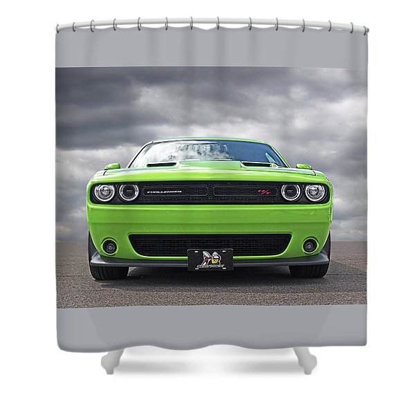 Challenger Scat Pack Shower Curtain