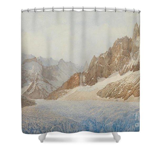 Chamonix Shower Curtain