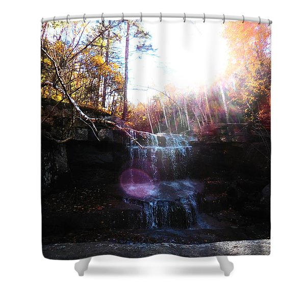 Champney Falls Shower Curtain