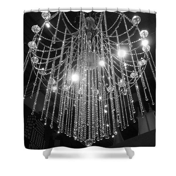 Chandelier Shower Curtain