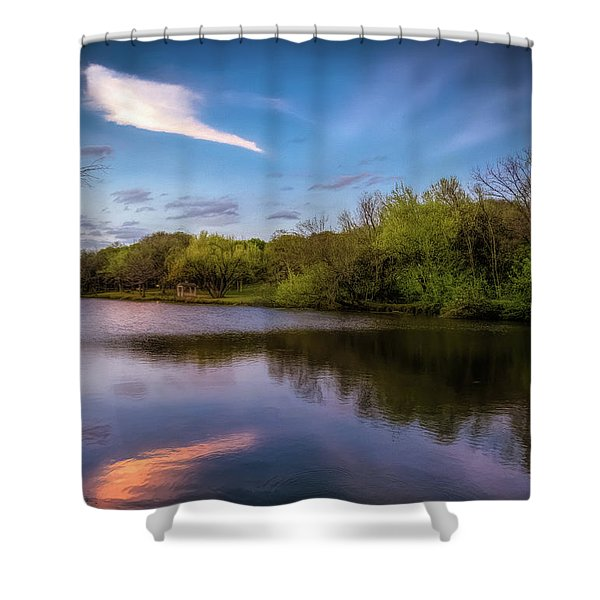 Chandler Lagoon Shower Curtain